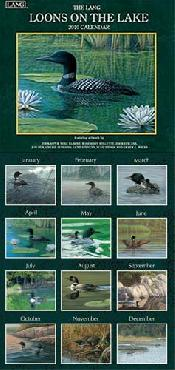 Michael Sieve Loons on the Lake 2010 Wall Calendar
