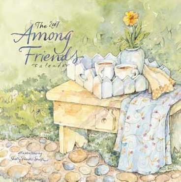 Shelly Reeves Smith Among Friends 2007 Small Wall Calendar