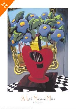 Rene Lalonde A Little Morning Music Canvas LAST ONES IN INVENTORY!!