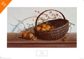 Pauline Eble Campanelli Oranges Canvas LAST ONES IN INVENTORY!!