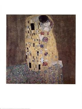 Gustav Klimt Kiss Canvas