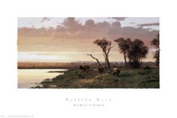 Michael Coleman Buffalo Days Canvas