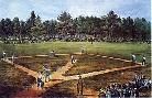 Currier and Ives National Game Of Baseball