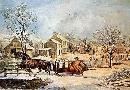 Currier and Ives American Farm Scenes No. 4