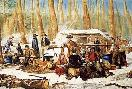 Currier and Ives American Forest Scenes