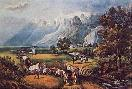 Currier and Ives Rocky Mountains