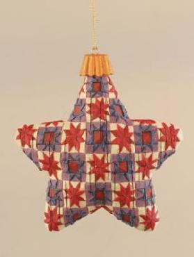Jim Shore DISC Multi Color Star Hanging Ornament