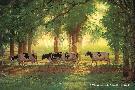 Chris Cummings Heading Home - Cows