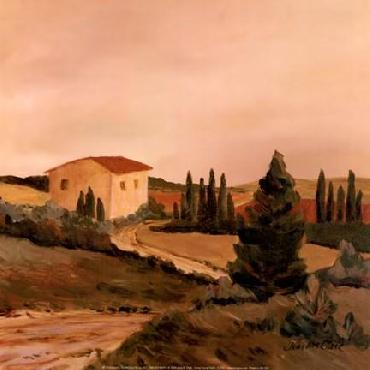 Jean Clark Sunny Tuscan Fields