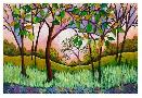 Peggy Davis Purple Sky