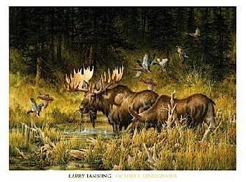 Larry Fanning October Rendezvous  (detail)