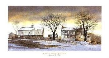 Ray Hendershot End Of The Day Canvas