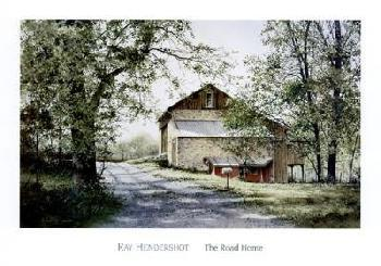 Ray Hendershot The Road Home Canvas