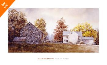 Ray Hendershot Autumn Roost NO LONGER IN PRINT - LAST ONE!!