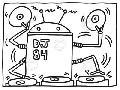 Keith Haring Dj 84, 1983