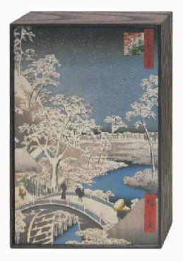 Hiroshige Drum Bridge at Meguro Art Block