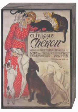 Theophile Alexandre Steinlen Clinique Cheron Art Block