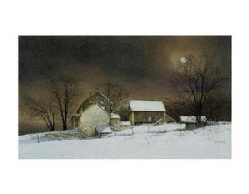 Ray Hendershot New Moon Canvas