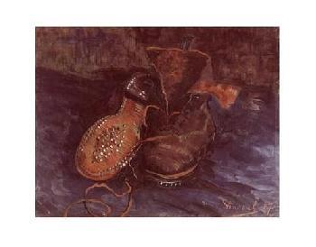 Vincent Van Gogh A Pair Of Boots, C.1887