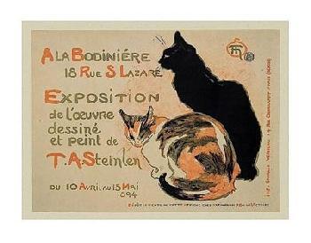 Theophile Alexandre Steinlen A La Bodiniere/exposition Steinlen Canvas