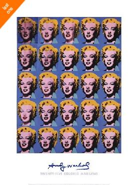 Andy Warhol Twenty-five Colored Marilyns, 1962 LAST ONES IN INVENTORY!!