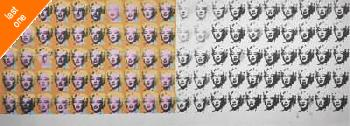 Andy Warhol Marilyn X 100 NO LONGER IN PRINT - LAST ONE!!