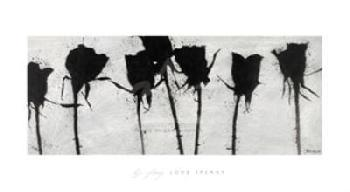 B.j. Zhang Love Speaks Canvas
