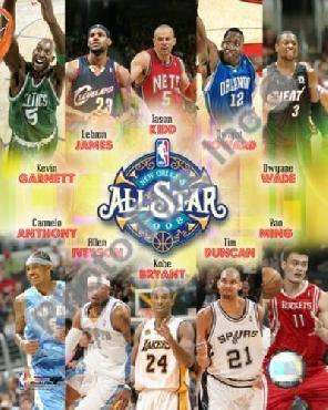 Anonymous 2007 - 08 Nba All - Star Game Matchup Composite