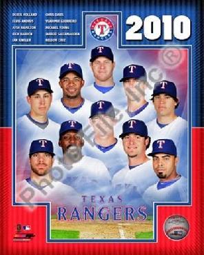 Anonymous 2010 Texas Rangers Team Composite