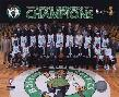 Anonymous 2009 - 10 Boston Celtics Team Photo With Eastern Confer