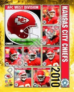 Anonymous 2010 Kansas City Chiefs Team Composite
