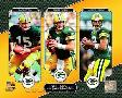 Anonymous Bart Starr, Brett Favre, & Aaron Rodgers Legacy Collect
