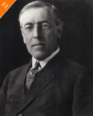 Anonymous Woodrow Wilson, 28th President Of The United States Canvas LAST ONES IN INVENTORY!!