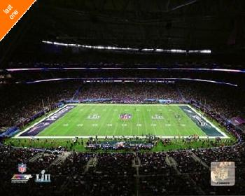 Anonymous U.s. Bank Stadium Super Bowl Lii Canvas LAST ONES IN INVENTORY!!