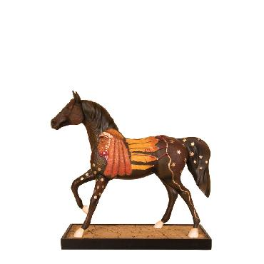 Ben  (Cherokee) Wright Dreamwalker Pony Trails of the Painted Ponies - Figurine Retired