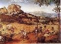 Pieter The Younger Brueghel Haymaking