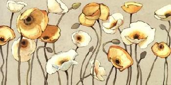 Shirley Novak Jaune Gris I Canvas