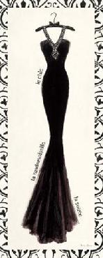 Emily Adams Couture Noir Original III With Border