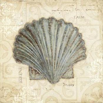 Emily Adams Beach Treasures I