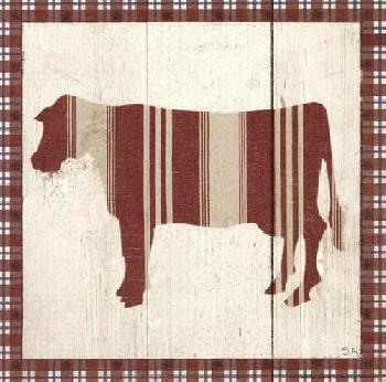 Sarah Adams Americana Cow