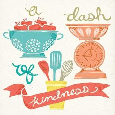 Mary Urban A Dash Of Kindness Canvas