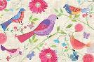 Farida Zaman Damask Floral And Bird I
