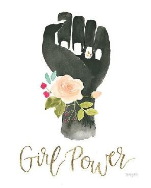 Jenaya Jackson Girl Power Xi Canvas