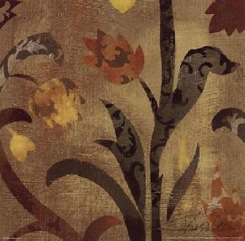 Silvia Vassileva Floral Fragment III 12x12
