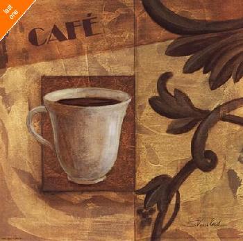 Silvia Vassileva Deco Coffee IV NO LONGER IN PRINT - LAST ONE!!