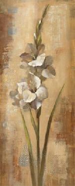 Silvia Vassileva Floral Grace I 8x20 Canvas