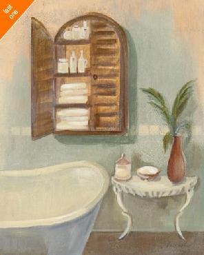 Silvia Vassileva Steam Bath II Canvas LAST ONES IN INVENTORY!!