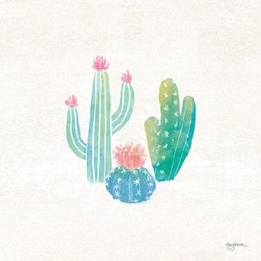 Mary Urban Bohemian Cactus III Canvas