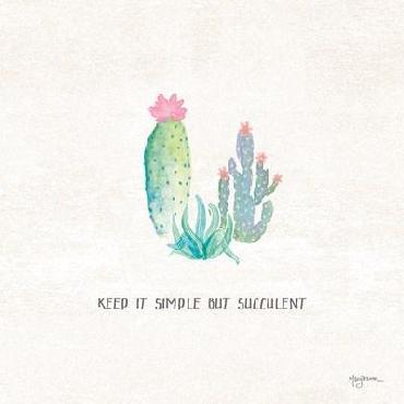 Mary Urban Bohemian Cactus Ix Canvas