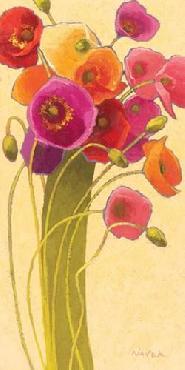 Shirley Novak Amapola Barcelona II Canvas